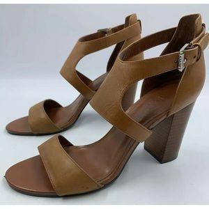 Lauren Ralph Lauren Tahira 11 B Heels Stacked Heel